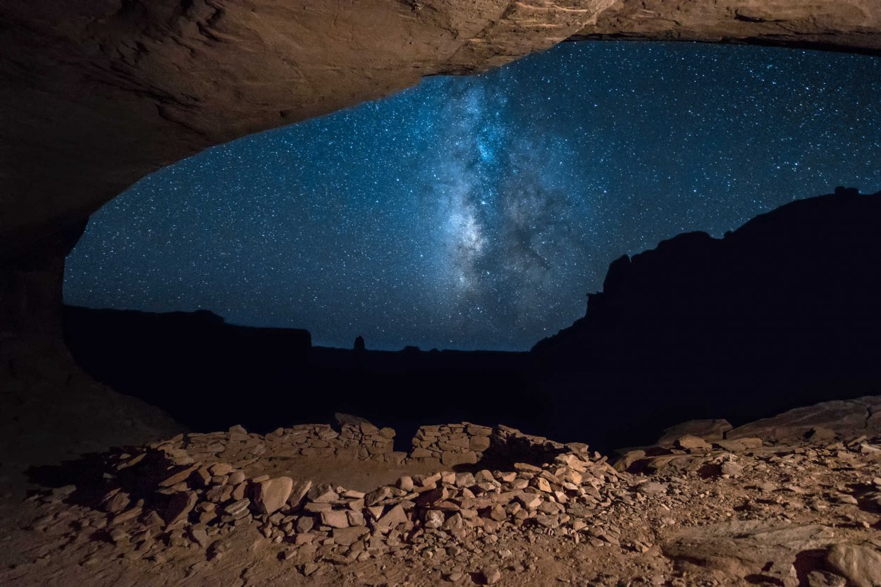 False Kiva Milky Way